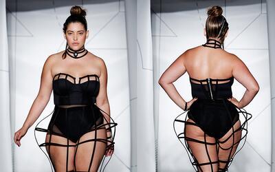 Denis Bidot es una de las modelos de talla grande latinas más importante...