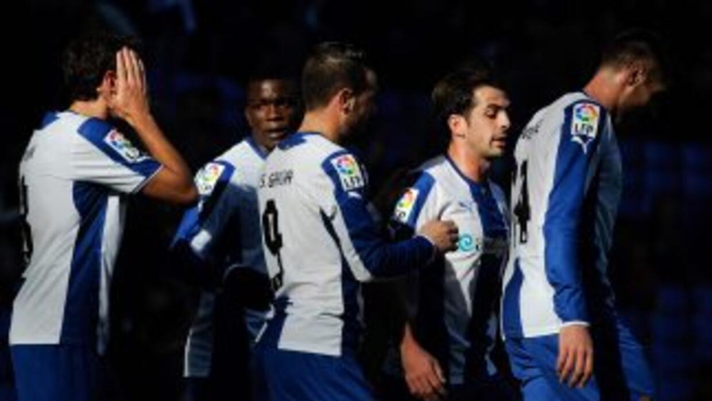 Los 'Periquitos' no pudieron reaccionar ante el gol de Osasuna.