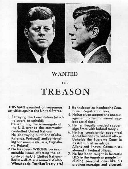 Varios asesores de Kennedy le habían recomendado esquivar Dallas...