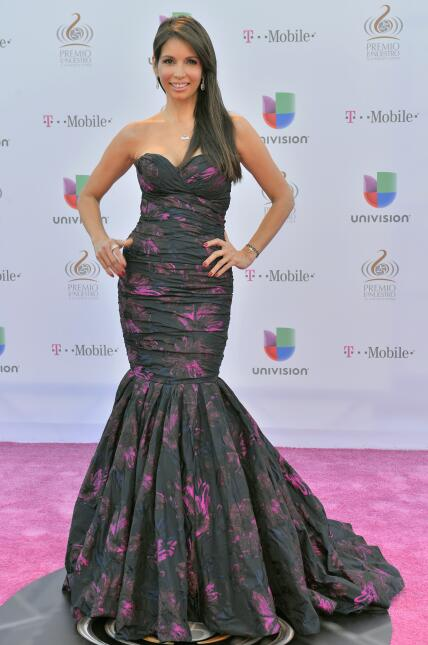 Giselle Blondet arrives at the 25th Anniversary Of Univision's '...