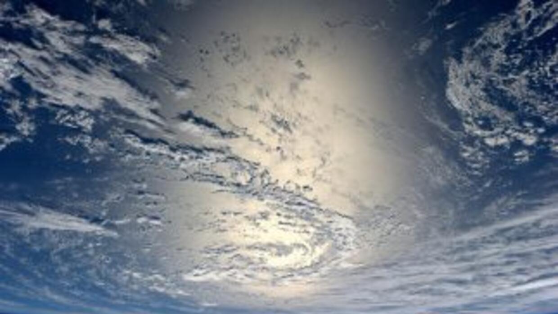 El planeta Tierra visto desde la estación espacial.