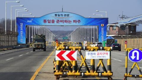 En su mejor momento, el complejo industrial de Kaesong llegó a em...