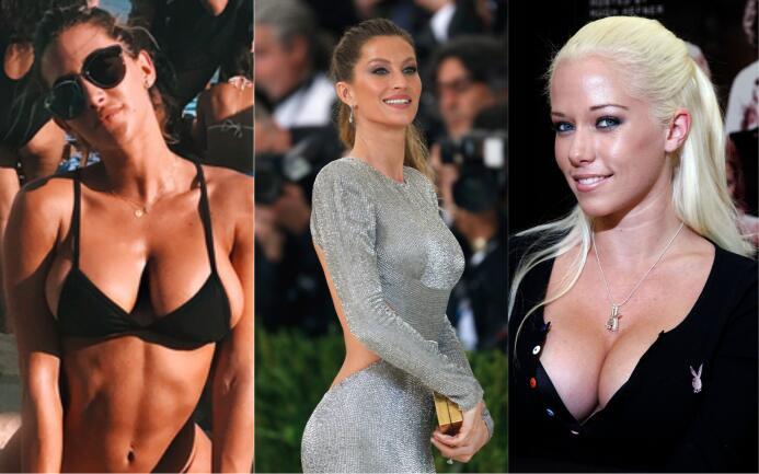 Modelos de Victoria's Secret y exconejitas Playboy, entre las 'esposas'...
