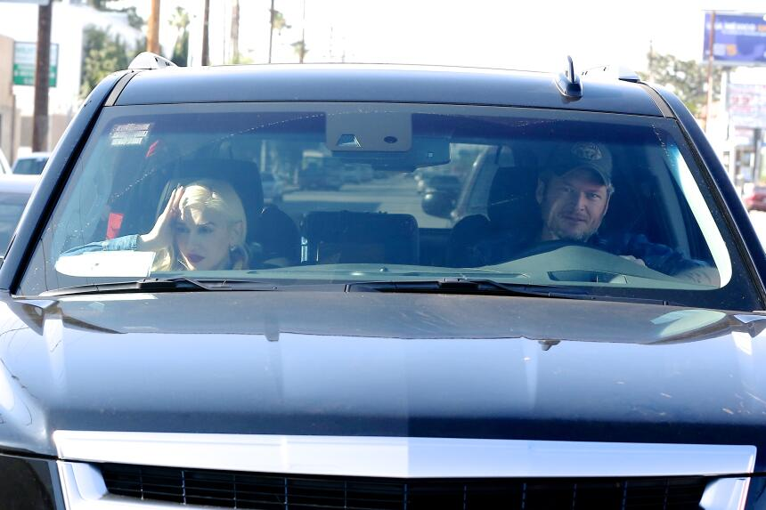Gwen Stefani y Blake