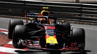 Ricciardo fue el más rápido en la clasificación del Gran Premio de Mónaco