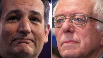 Cruz y Sanders le aguan la fiesta a sus rivales este supersábado supersa...