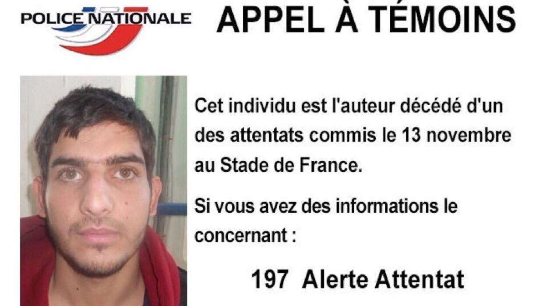 Autoridades señalan a este hombre como autor de un atentado en París.