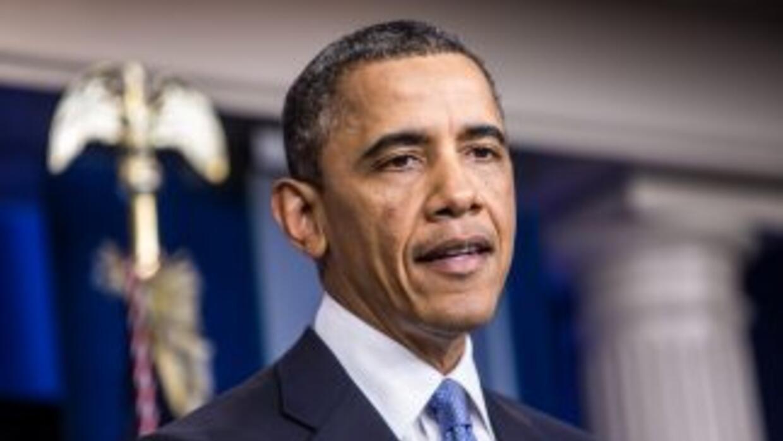 El presidente de Estados Unidos, Barack Obama, inicia su segundo mandato...