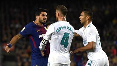 En fotos: los hechos que marcaron el Clásico de España entre Barcelona y Real Madrid