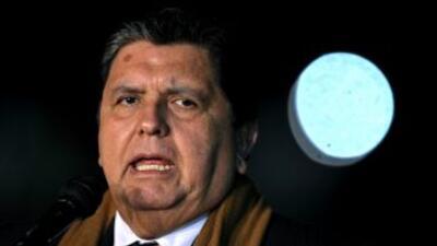 El presidente de Perú, Alan García aseguró que las críticas del ex manda...