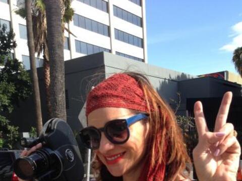 Cecilia Bogran nos invitó tras bastidores a la grabación d...