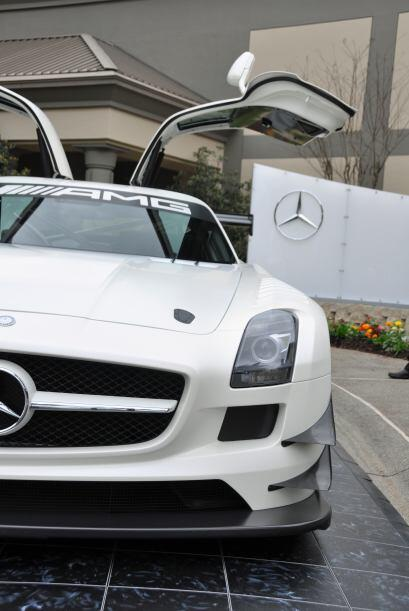 El auto, que se desarrolló para cumplir las especificaciones GT3 de la F...