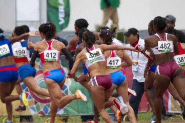 El equipo femenil de Venezuela conquistó la medalla de oro en los...