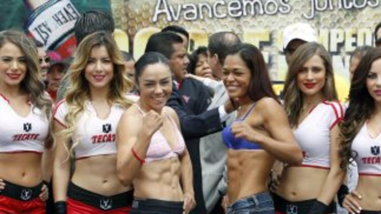 Jackie Nava y Alys Sánchez sin problemas de peso (Foto. Rafael Soto/Zanfer)
