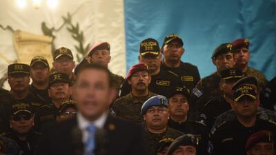 Jimmy Morales despliega al ejército para expulsar de Guatemala a la misión de la ONU que lucha contra la corrupción