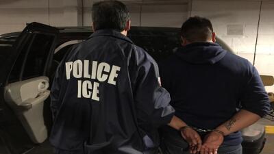Durante el año fiscal 2017, ICE arrestó a 20,201 personas en California,...