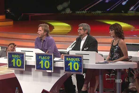 Noel quería hasta darle un 15, algo imposible en el show.