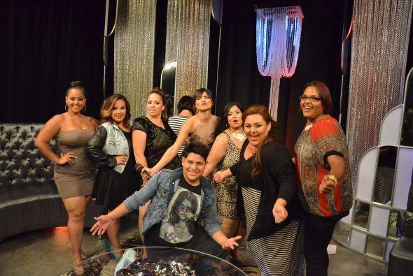 Así encontramos detrás de cámaras a Alejandra Espinoza con todos los par...