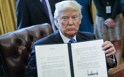 Los controversiales primeros días de Donald Trump en la Casa Blanca en T...