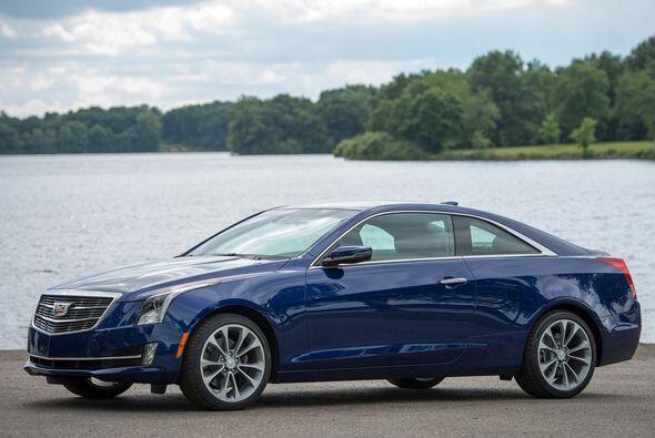 El Cadillac ATS Coupé está equipado con un motor 2.0 litro...