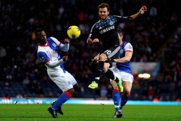 Chelseavisitó al Blackburn Rovers y se llevó la victoria.