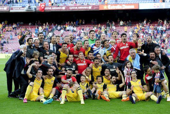 ATLÉTICO DE MADRID.- El actual campeón de Liga dirigido por del argentin...