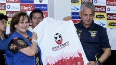 Reinaldo Rueda Director Técnico de Ecuador