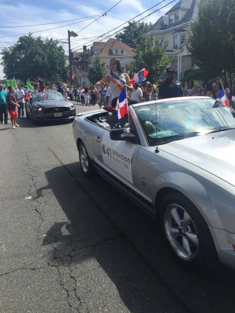 El domingo se celebró el Desfile Domicano de Paterson.