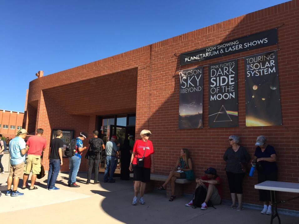 Eclipse Solar 2017 en el Planetario de la Universidad de Arizona