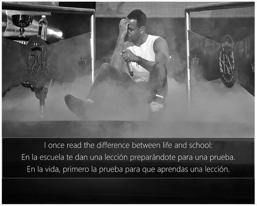 Romeo Santos estrena el video de 'Héroe Favorito' Screen Shot 2017-01-30...