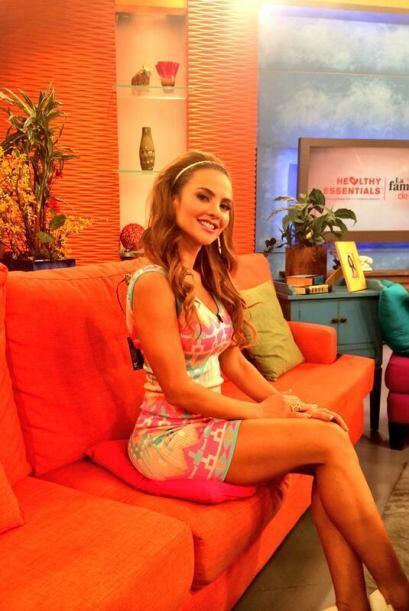 """""""Entré comerciales"""", compartió Ximena. (Abril 10, 2014)"""