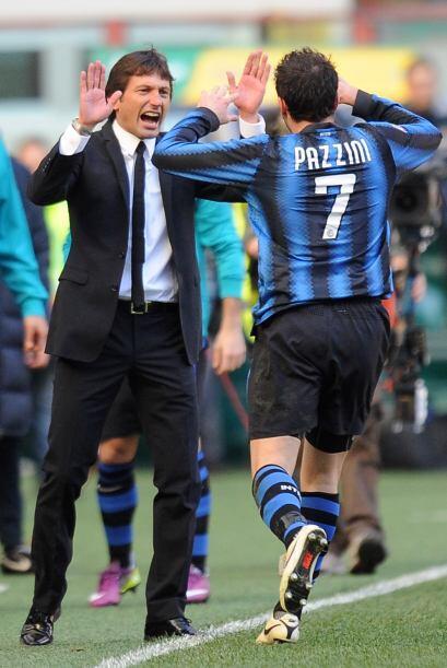 Con su gol, los hombres de Leonardo se acercaron más al líder Milan.