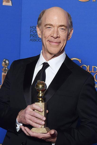 J.K. Simmons fue el mejor actor de reparto en cine con 'Whiplash'.