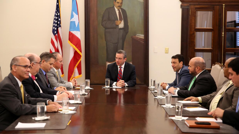Reunión de Fortaleza y empresarios