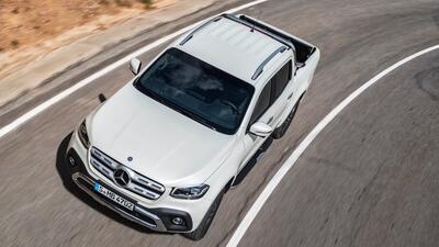 Esta es la nueva Mercedes-Benz Clase-X en fotos