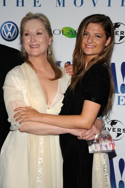Meryl Streep y su hija Louisa Jacobson Gummer