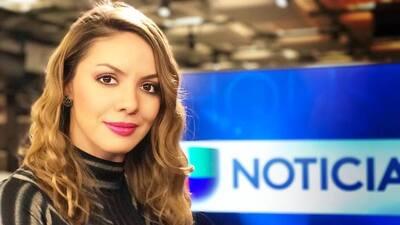 La periodista colombiana que presenta el reporte del tiempo todos los fi...