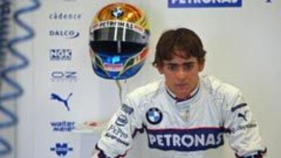 Esteban Gutiérrez firmó con la Sauber