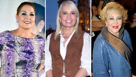 Lupita D'alessio, Carla Estrada y Silvia Pinal