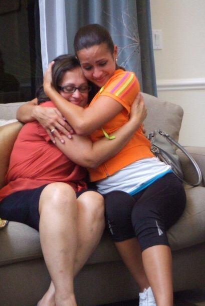"""De Melissa para Beba Caro: """"Daría lo que fuera por poderte abrazar en un..."""