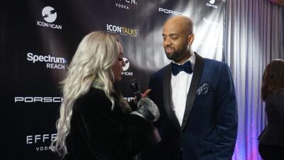 Behind the scenes at 'ICON Talks' event