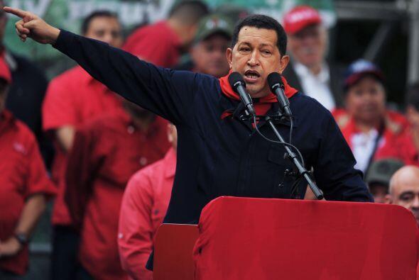 Entusiasmado Chávez dijo: 'ahora, nueve años después, ustedes mismos dic...