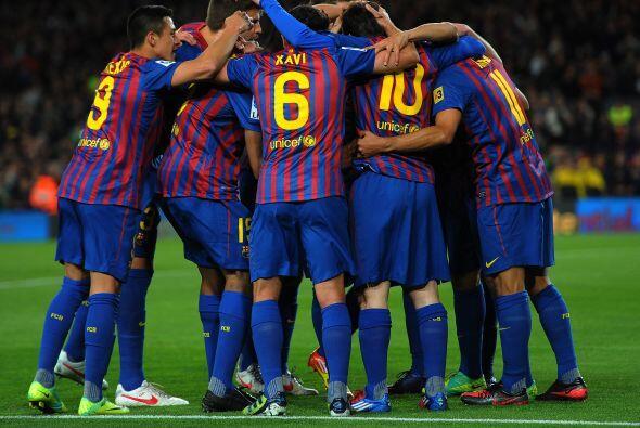 Hasta ahí, era toda alegría en el Camp Nou.