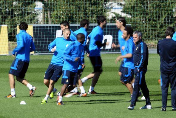 Para ello, el Madrid se preparó a tope y no se fía del rival en cunestión.