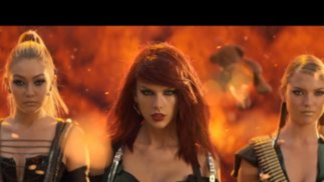 Taylor Swift es 'Catástrofe' en 'Bad Blood'.