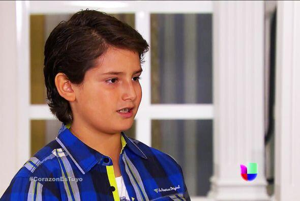 Por lo visto te dejó helado Sebastián. Y ya sabemos quién es.