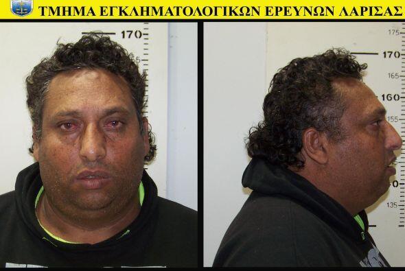 Mientras que el hombre, Jristos Salís, de 39, lo hizo en la penitenciarí...