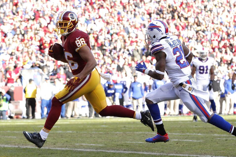 Los Redskins mantienen su paso en la Este NFC al derrotar 35-25 a los Bi...