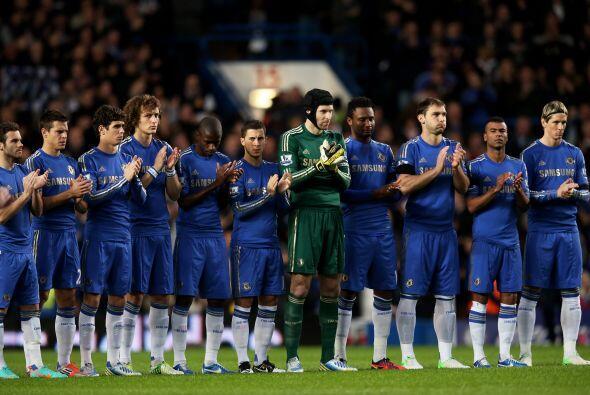 El conjunto 'Blue' recibía a Manchester City en Stamford Bridge c...