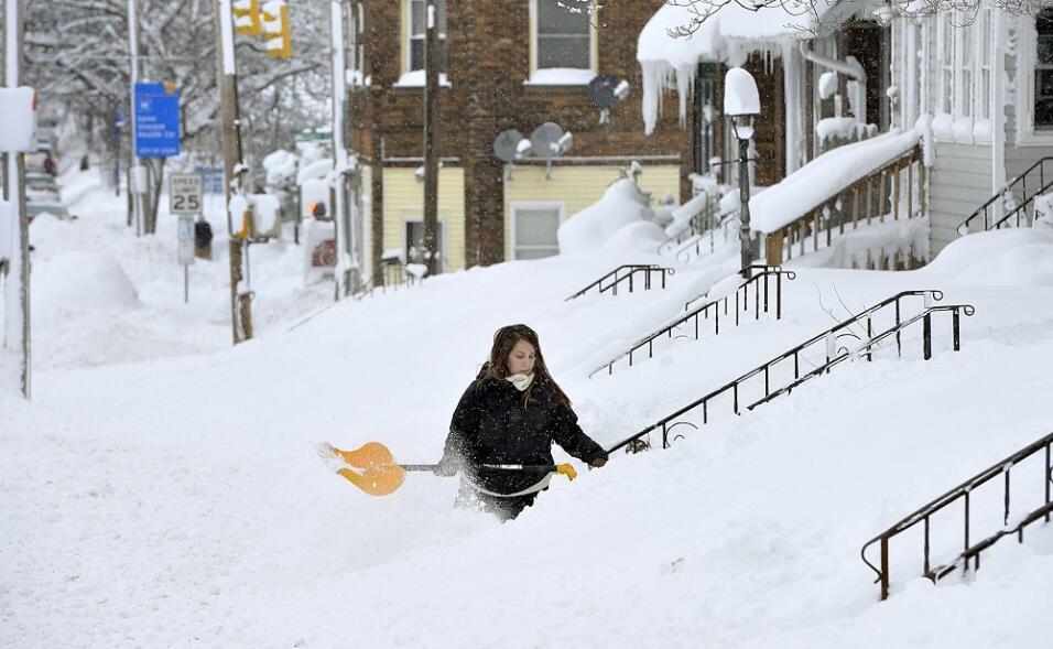 Resultado de imagen para Tormentas de nieves cubre el centro de los estados unidos